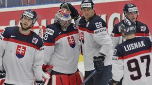 Slováci po prohraném prodloužení s USA