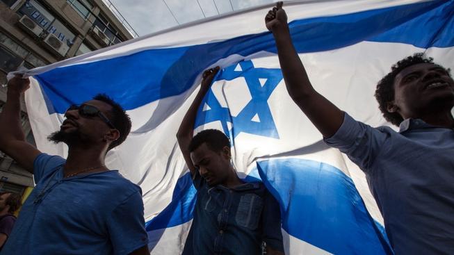 Protesty etiopských Židů v Tel Avivu