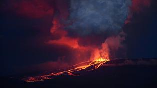 Výbuch sopky může zničit unikátní ekosystém ostrova