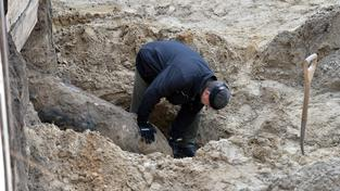 V Kolíně nad Rýnem našli dvoutunovou leteckou bombu (ilustrační snímek)
