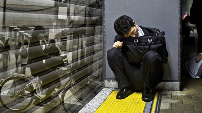 V roce 2013 spáchalo sebevraždu 2323 Japonců (ilustrační snímek)