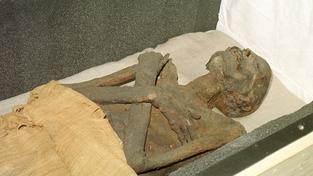 Egypťané byli v balzamování přeborníci. Na snímku mumie, o níž se předpokládá, že jde o krále Ramsese I.