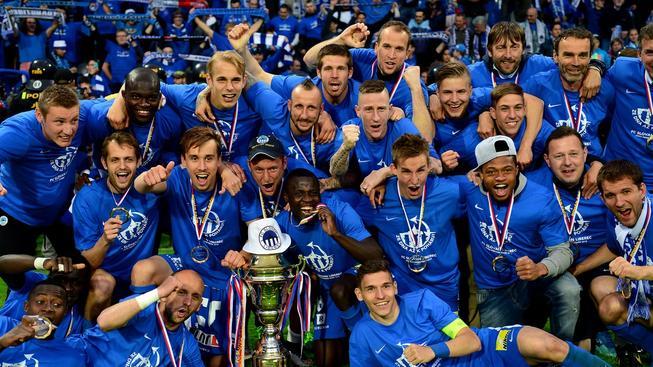 Liberečtí s pohárem pro vítěze