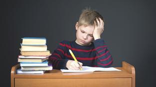 Domácí úkoly prý dětem škodí, okrádají je o volný čas (ilustrační snímek)