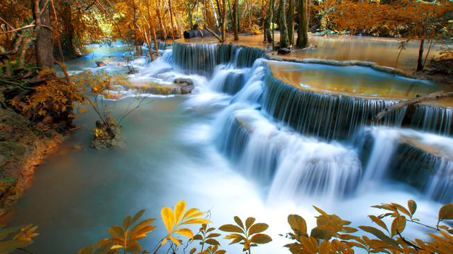 Ilustrační foto: Zvuk vodopádu prý zaměstnance nabudí