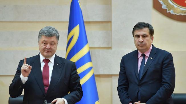 Ukrajinský prezident jmenuje do funkce oděského gubernátora gruzínského exprezidenta Michaila Saakašviliho