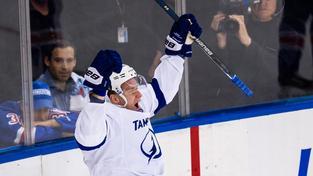 Bude se takto Ondřej Palát radovat i ve finále Stanley Cupu?