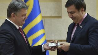 Z gruzínského exprezidenta se stal Ukrajinec a šéf Oděské oblasti