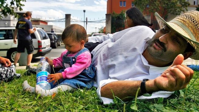 Negativní postoj k Romům se drží společnosti jako klíště. Ilustrační snímek