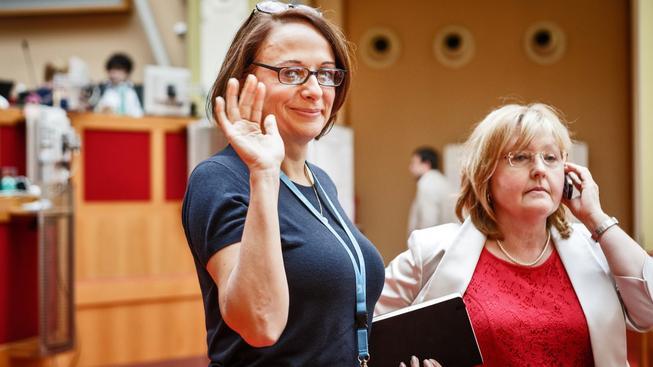 Pražská primátorka Adriana Krnáčová měla s výběrem právníků pro kauzu Škodova paláce drobné potíže