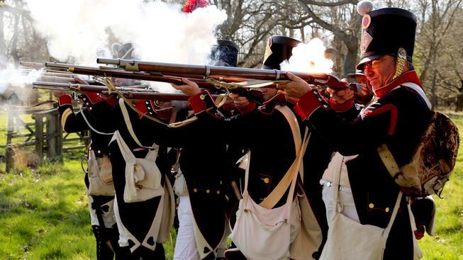 K oslavám 200 výročí patří i rekonstrukce slavné bitvy. Ilustrační snímek