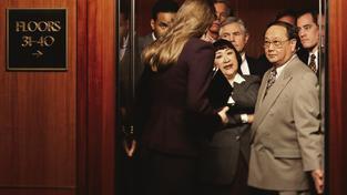 Toaleta ve výtahu může sice vypadat jako bláznivý nápad, v kritických okamžicích by mohla být k nezaplacení. Ilustrační snímek