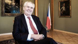 Prezident Miloš Zeman radí unii, aby posílala lodě s uprchlíky domů