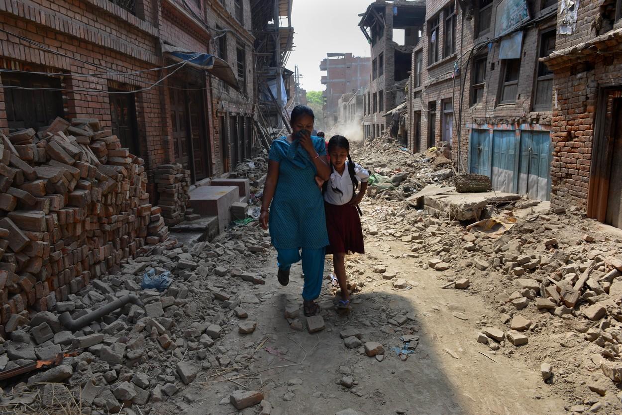 Budova se třásla jako kyvadlo, vzpomíná cestovatelka na zemětřesení v Nepálu