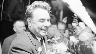 Leonid Brežněv, kterého léčitelka Džuna udržovala v dobré zdravotní kondici