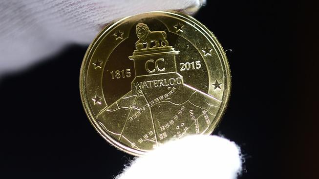 Belgičané využili výročí bitvy u Waterloo a vydali nové euromince