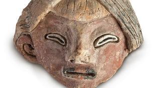 Jedna ze sošek objevených v Peru