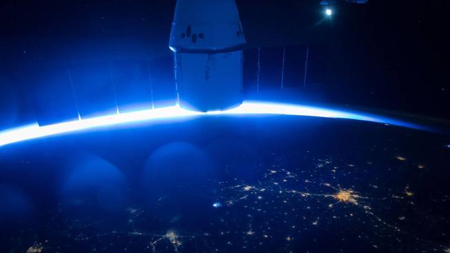 Posádka ISS má skutečně pěkný výhled