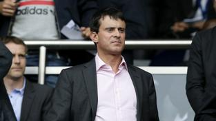 Manuel Valls je vášnivým fotbalovým fanouškem. Finále Ligy mistrů si proto nemohl nechat ujít