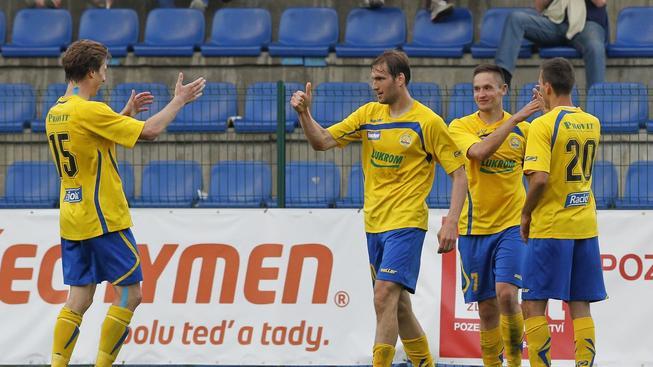 Hráči Zlína budou příští sezonu hrát nejvyšší fotbalovou soutěž