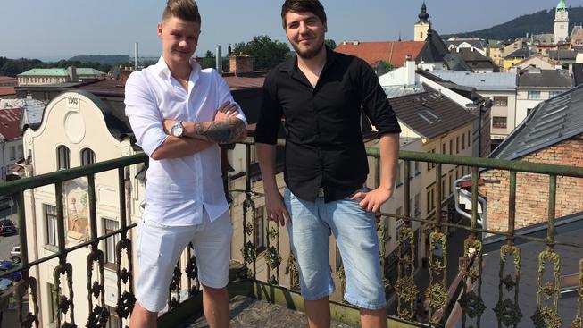 Michael Popov a Pavel Hroch