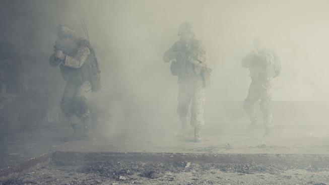 Vojáci z jednotky amerických mariňáků zavraždili při vojenské operaci iráckého civilistu. Ilustrační foto