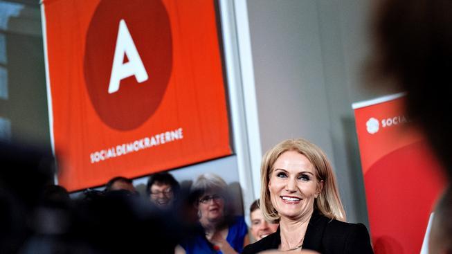 Premiérka Helle Thorningová-Schmidtová poznala svoji porážku a oznámila odchod z čela Sociálnědemokratické strany