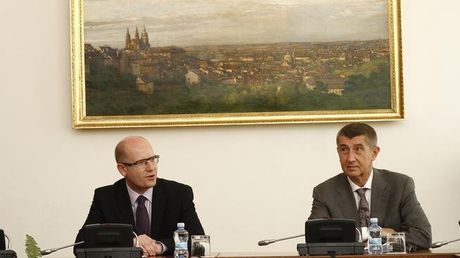 Premiér Bohuslav Sobotka považuje Babišovo podnikání za koaliční problém