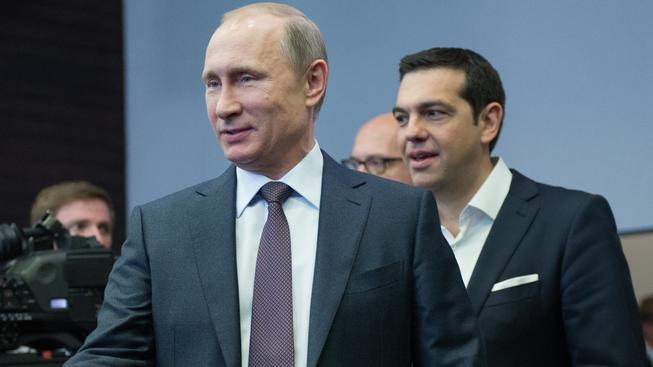 Putin a Tsipras mluvili především o dovozu řeckých, zemědělských produktů