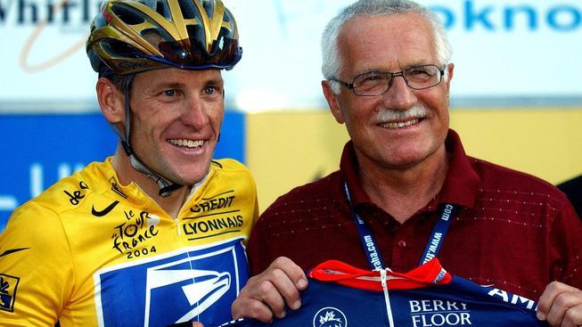 Lance Armstrong a Václav Klaus starší