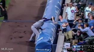 Fanouškovi se na baseballovém utkání povedl pěkný kousek