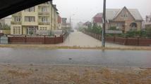 Blesková povodeň v Soči a okolí