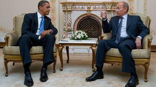 Putin s Obamou mluvil hlavně o boji proti terorismu a o Ukrajině