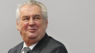 Prezident Miloš Zeman přiznal, že Peroutkův článek nenašel