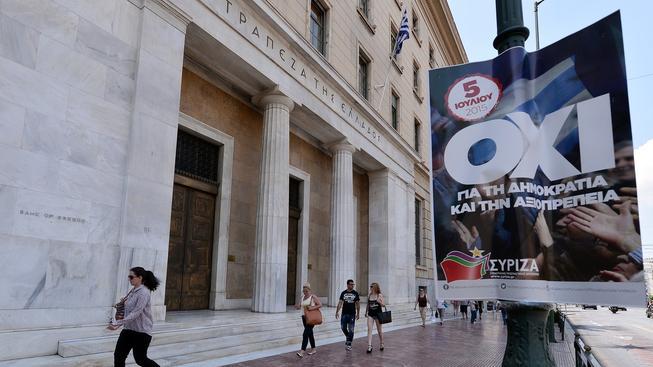 """SYRIZA vyzývá Řeky k tomu, aby v nedělním referendu řekli """"ne"""""""