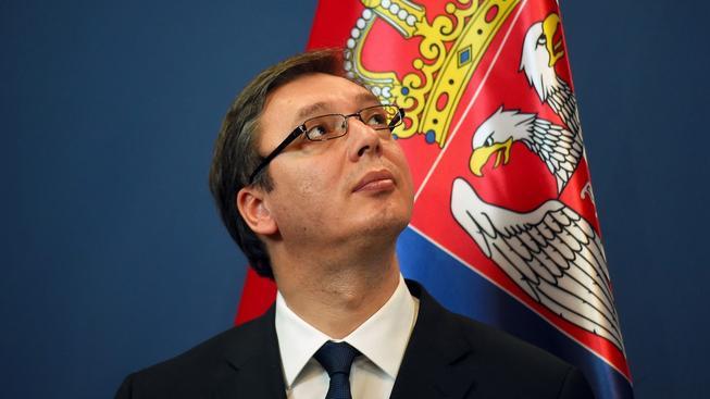 Srbský premiér Aleksandar Vučić pojede v půli července do Srebrenici