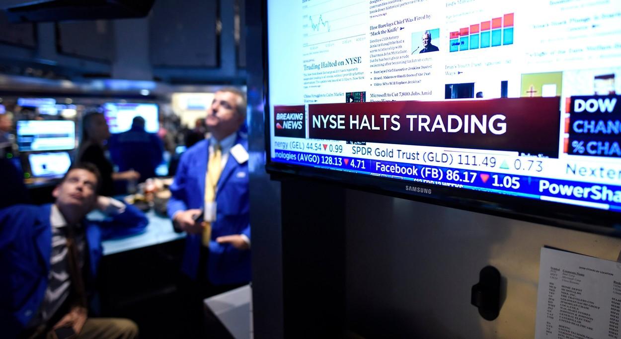 Wall Street paralyzovaly technické problémy