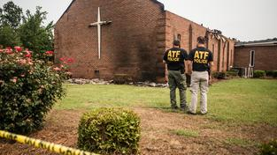 Kostel v Greeleyville vyhořel začátkem července