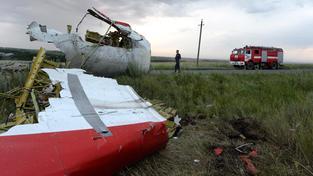 Letadlo letu MH17 společnosti Malaysia Airlines bylo nad Ukrajinou sestřeleno 17. července 2014