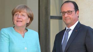 Názor na budoucnost měnové unie rozděluje Francii a Německo