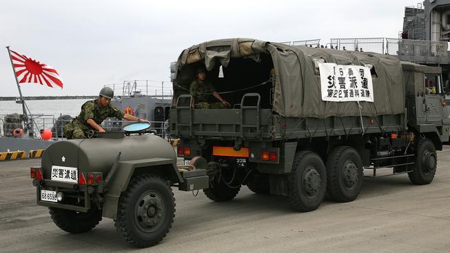 Japonská armáda může být poslána i mimo území ostrovního státu