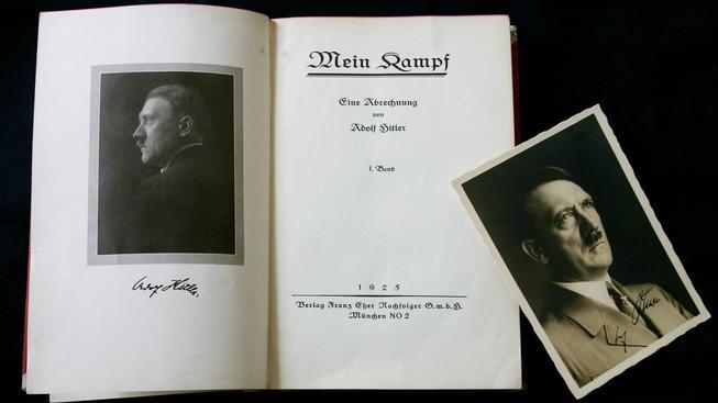 Hitlerova kniha vzbuzuje emoce už několik desítek let