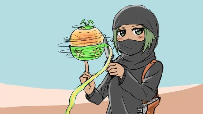 Bojovat s IS se dá i obyčejnými obrázky - ISIS-chan