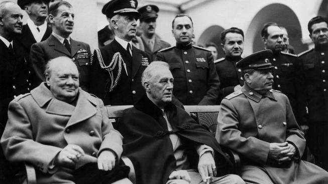 Krym se zapsal do učebnic dějepisu dávno před ruskou anexí už za druhé světové války jaltskou konferencí