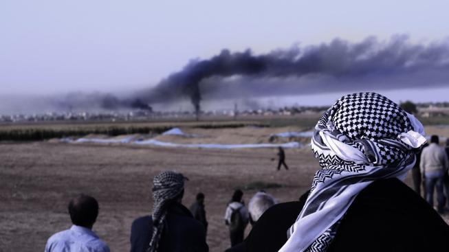 Turecko bombardovalo pozice Kurdů a Islámského státu