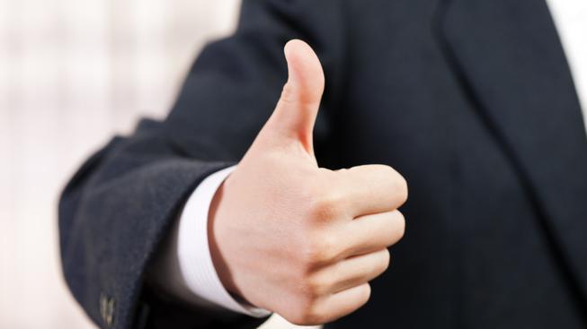 Některá gesta ani nemusí být doprovázena slovem. Ilustrační foto