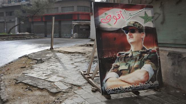 Syrský prezident Asad přiznal porážku své armády