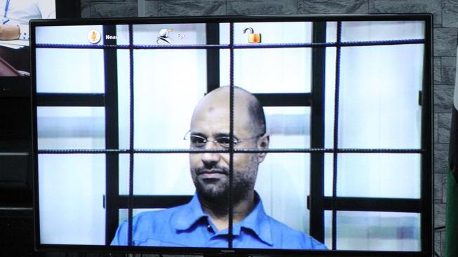 Sajf Islám Kaddáfí, který vypovídal prostřednictvím videokonference, dostal trest smrti