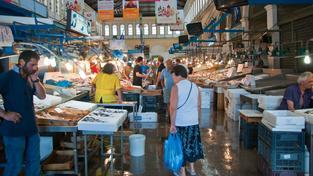 Na některých řeckých trzích už funguje výměnný obchod. Ilustrační foto