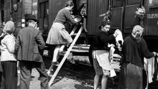 Vysídlení německých obyvatel z českého území z června 1946